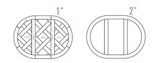 Wzór intarsji stół Cl13 maly